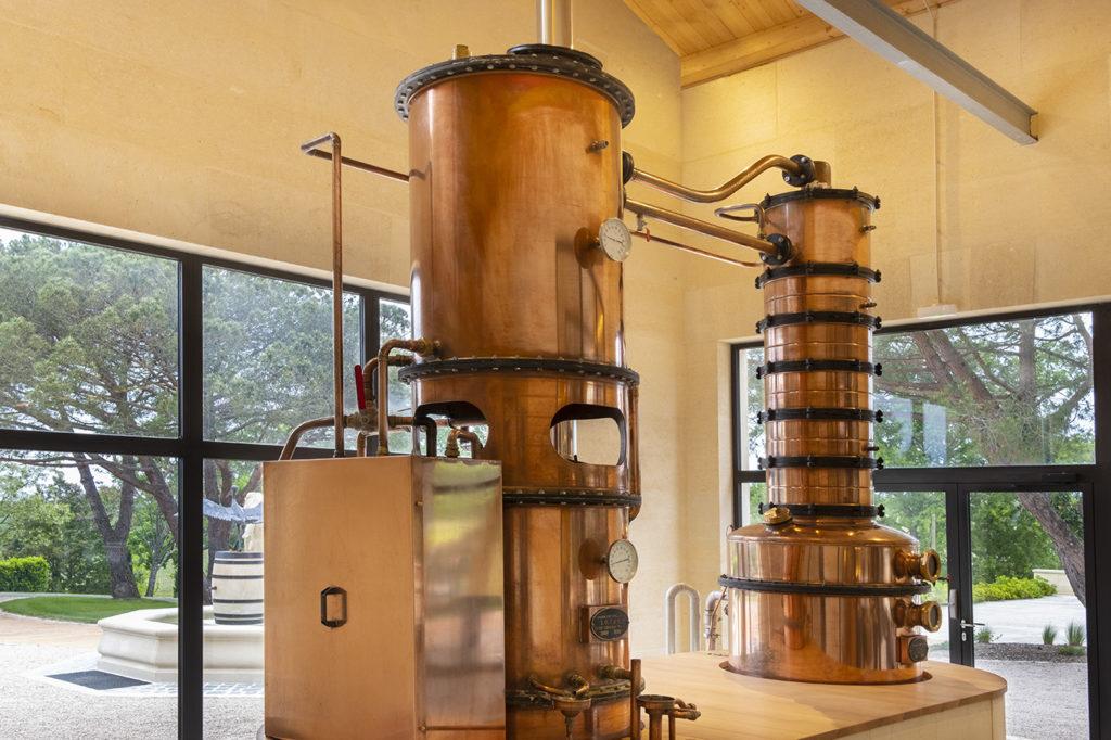 Armagnac distillation alambic