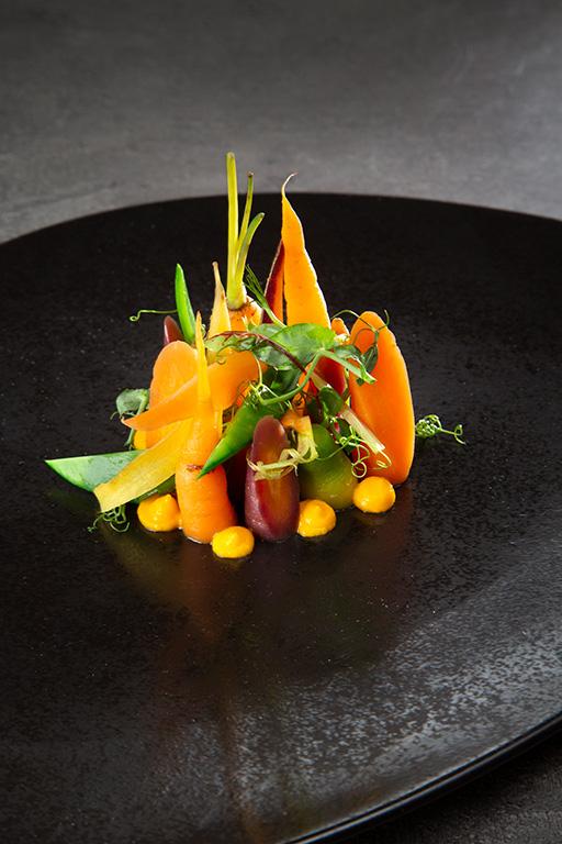 carottes et petit-pois