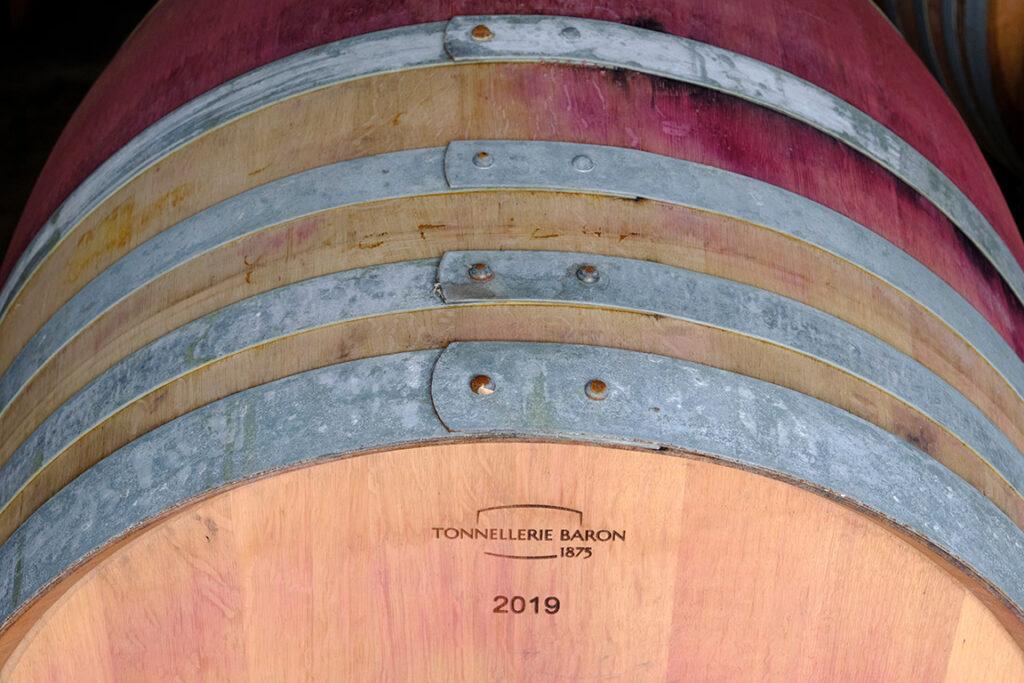 vigne et élevage du vin rouge