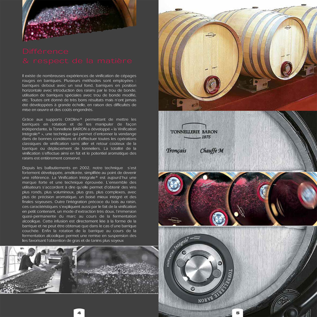 vignes et vinification integrale