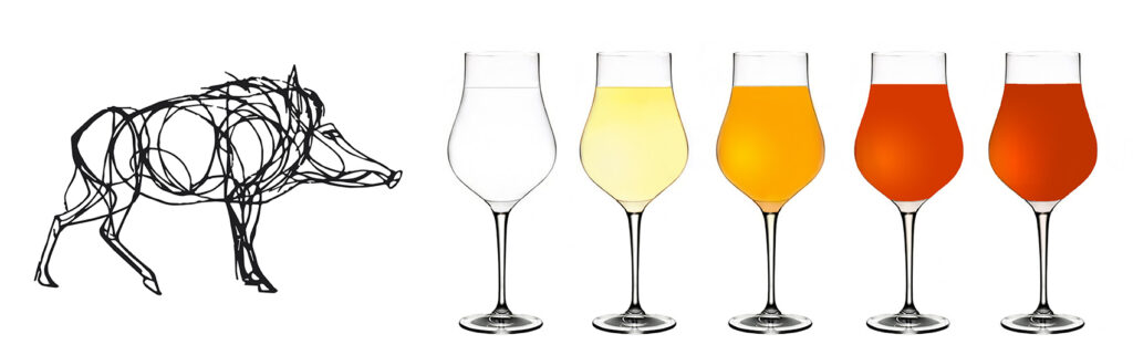chai et coloration de l'armagnac